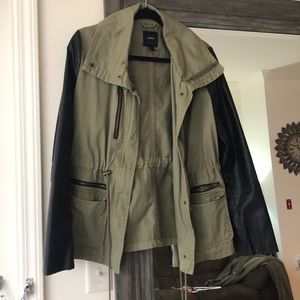 A find at Forever 21- army green jacket!